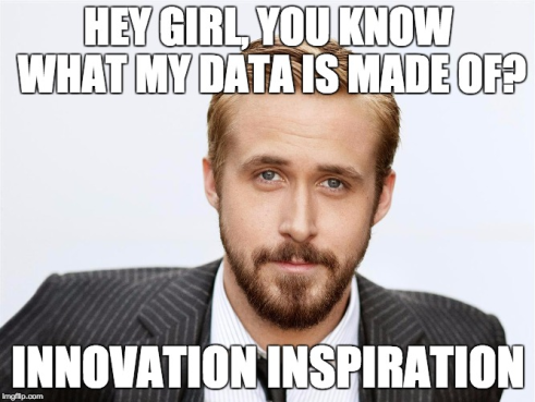 Ryan does his part for data.
